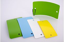 Etiquettes plastiques/PVC