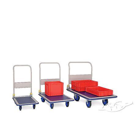 Chariots à dossier repliable