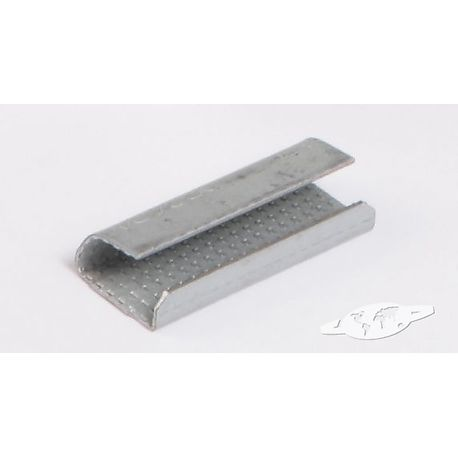 Chapes crantées pour feuillard Polyester/PET