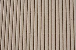 Carton ondulé simple cannelure