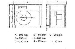 Cercleuse semi-automatique EXS 206