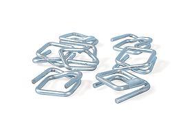 Boucles galvanisées